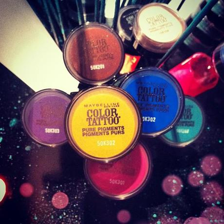 Maybelline Color Tattoo Pigments | HIP HIP No Way