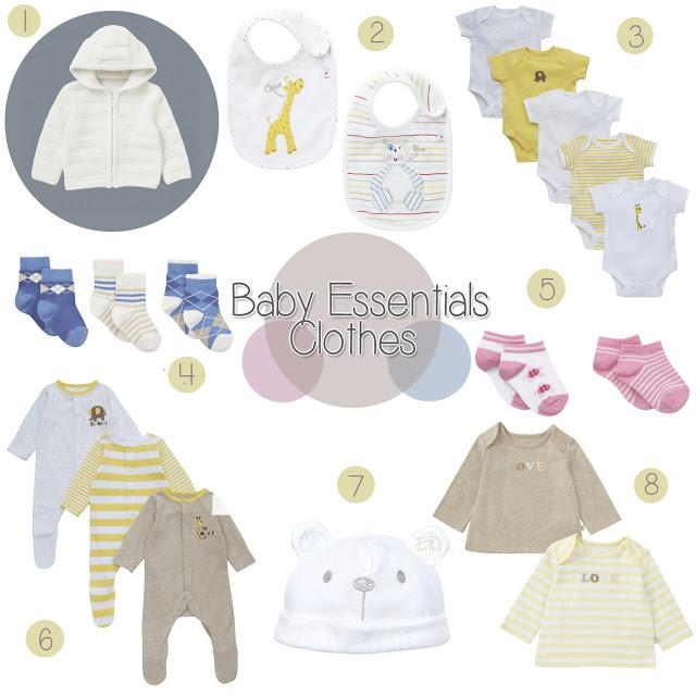 baby essential clothes paperblog