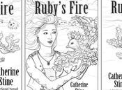 Ruby's Fire Book Cover Illustration
