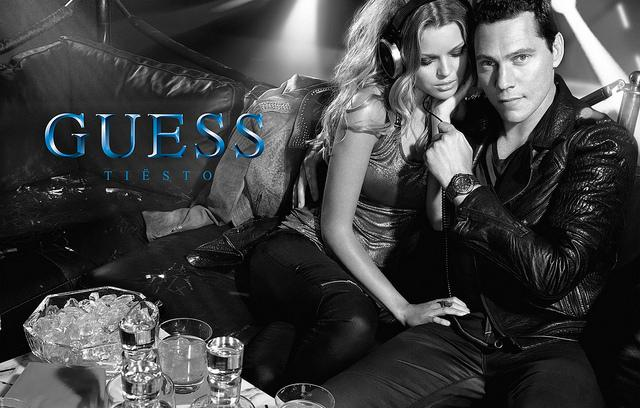 Guess Creates a Tiesto Watch