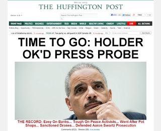Far Left, Far Right Finally Agree- AG Eric Holder Must Go