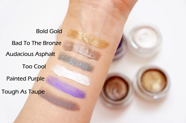 Maybelline Color Tattoo Swatches - Paperblog