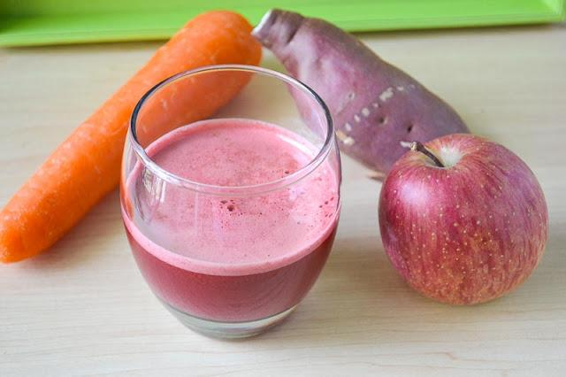 A juicing experience: Ruby Red Juice