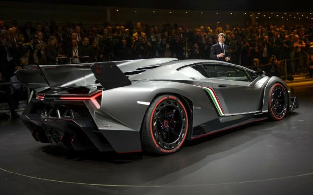 The Badass New 750hp Supercar Lamborghini Veneno Paperblog