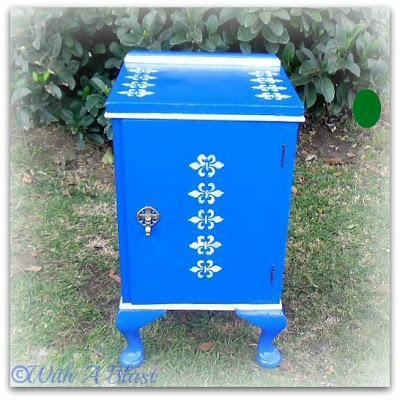 With A Blast : DIY Furniture Painting #diy  #furniturepainting
