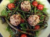 Guest Blogger: Poppy's Patisserie Moroccan Harissa Sesame Quinoa Balls Griddled Asparagus Salad with Creamy Dressing