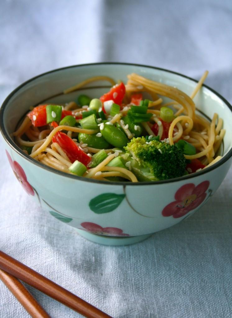 Light Sesame Noodles - Paperblog