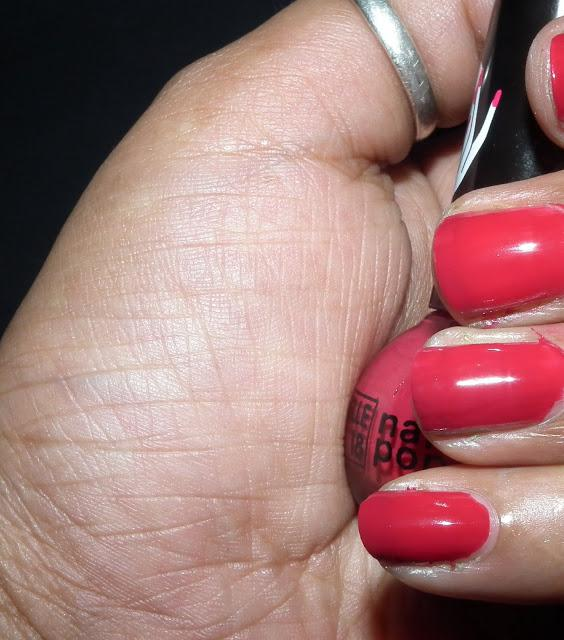 Budget Friendly Nail Paint Shade in Red/Maroon - Elle 18 Nail Pop in ...