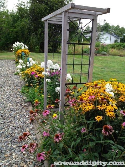 Fall Flower Bed Ideas Photograph Flower Garden Design