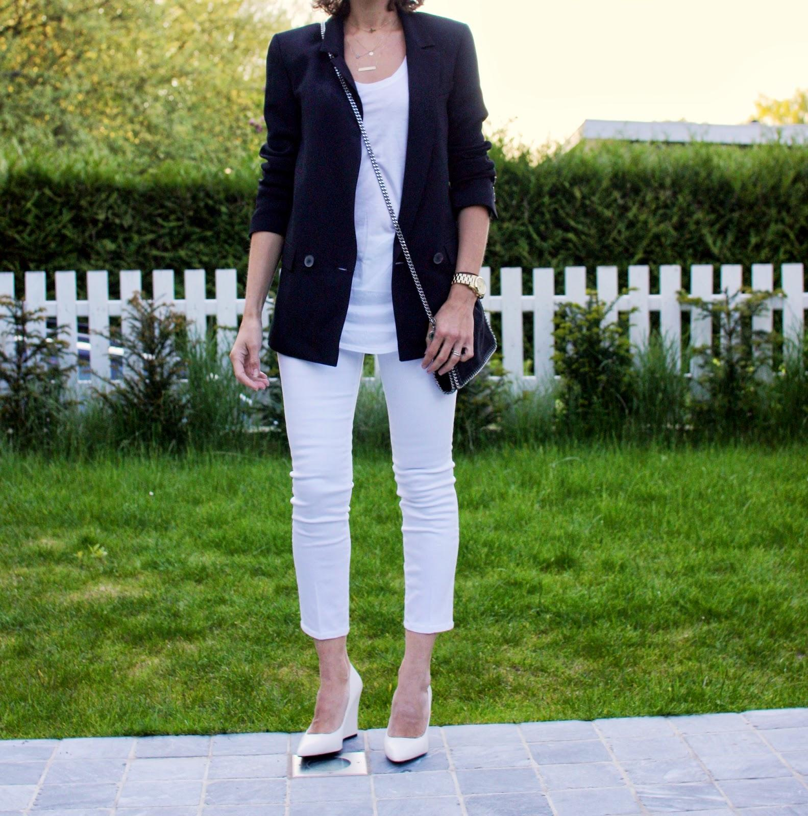 Cropped White Jeans - Paperblog