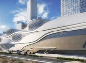 Zaha Hadid's Metro Station Concept Saudi Arabia