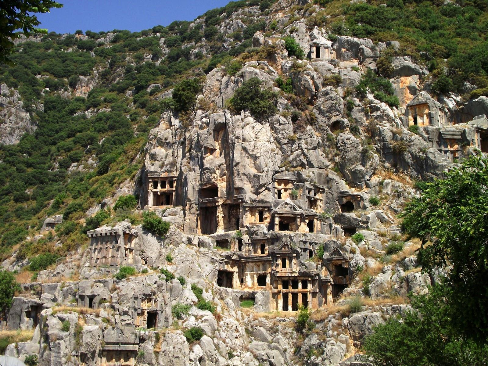Myra, Turkey - Paperblog