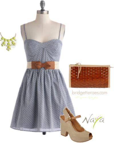 Bridgette Raes Styling for Naya - Look 2