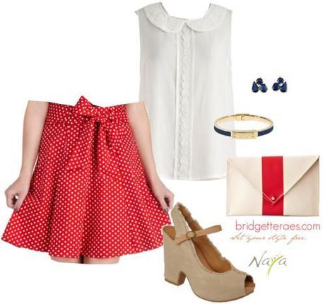Bridgette Raes Styling for Naya Shoes- Look 3