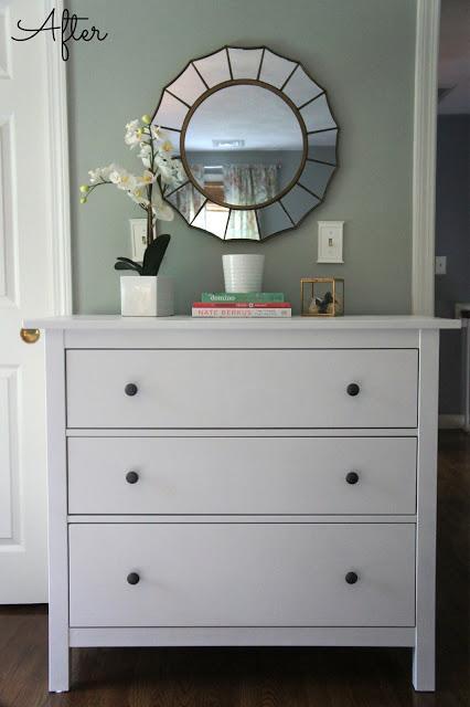 ikea hemnes dresser guest bedroom update paperblog