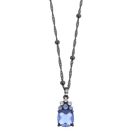 44749Jewelry Bling of the Day: Moonlight Blue Pendant Necklace