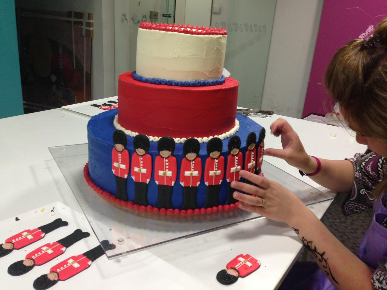 ... Queen Elizabeth's Birthday Cake: A Cake Fit For a Queen - Paperblog