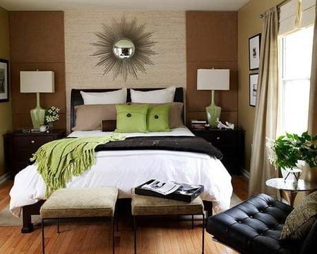 decor wallpaper designs for bedroom6 Decorating The Wall Behind Your Bedroom Headboard HomeSpirations