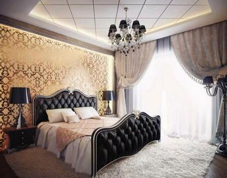 decor wallpaper designs for bedroom10 Decorating The Wall Behind Your Bedroom Headboard HomeSpirations
