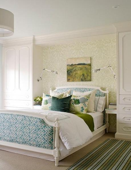 decor wallpaper designs for bedroom8 Decorating The Wall Behind Your Bedroom Headboard HomeSpirations