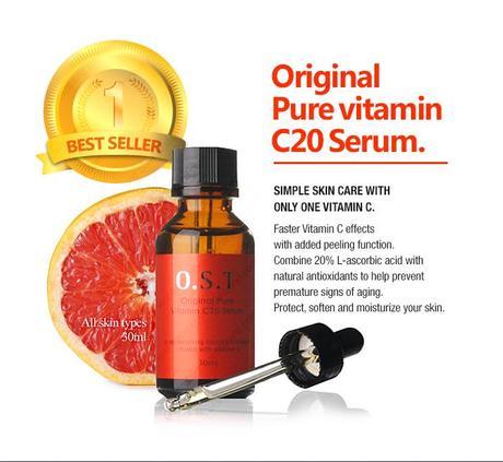 Wishtrend's OST Original Pure Vitamin C20 Serum - Review