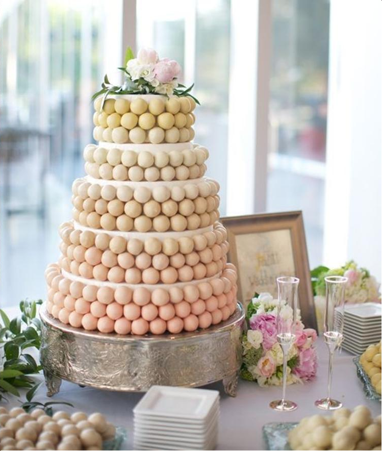 Cake Pop Cake Non traditional Wedding Cakes