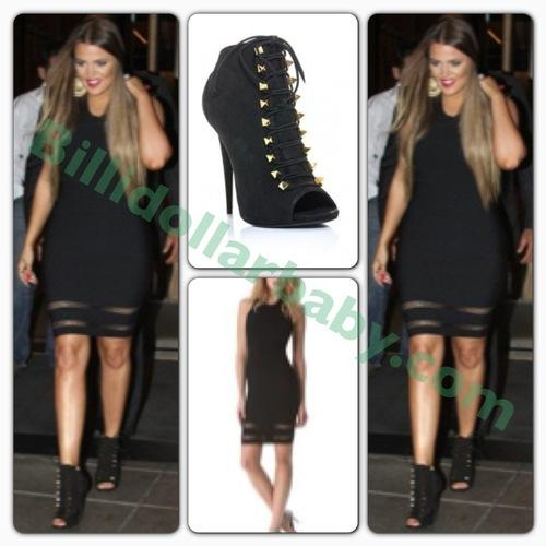 Khloe Kardashian out and about in NYC wearing Alexander Wang x...