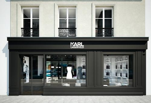 First Look: New KARL LAGERFELD Store opening in Le Marais –...