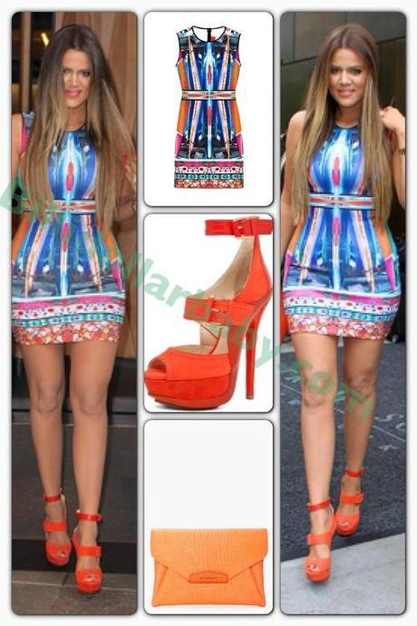 Khloe Kardashian's Today Show Clover Canyon Long Board Dress,...