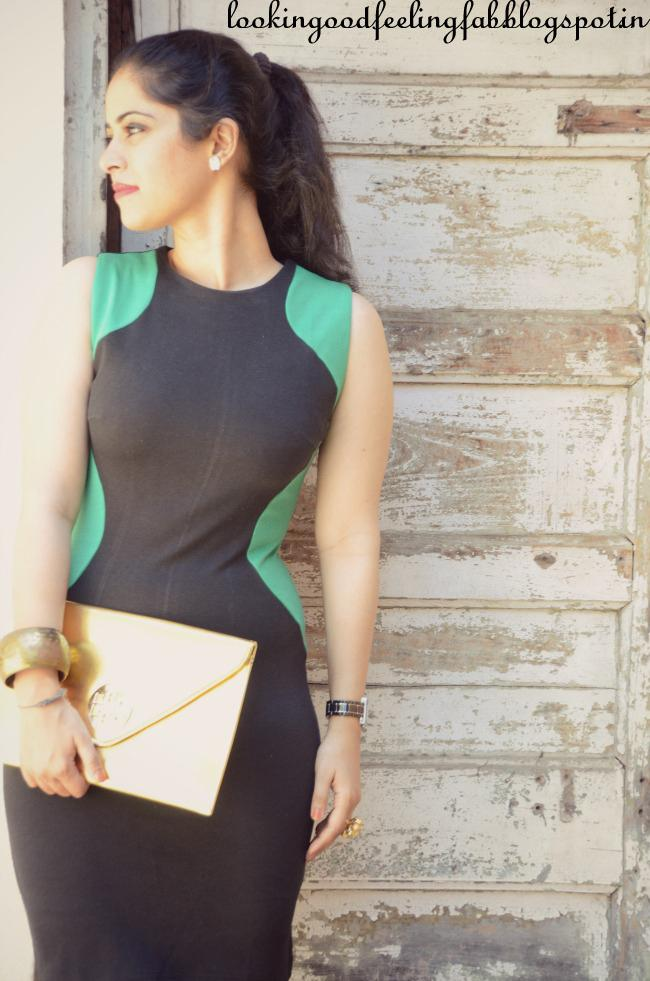 how to look slimmer in dress