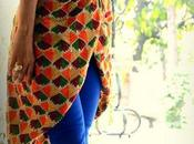 Phulkari Dupatta Just Salwar Suits? Draped Jacket Anyone?