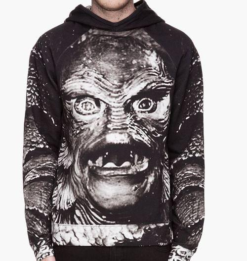 SHOP:  Christopher Kane Creature Hoodie ($690)