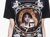 SHOP: Givenchy Black Framed Halo Madonna T-Shirt Available At...