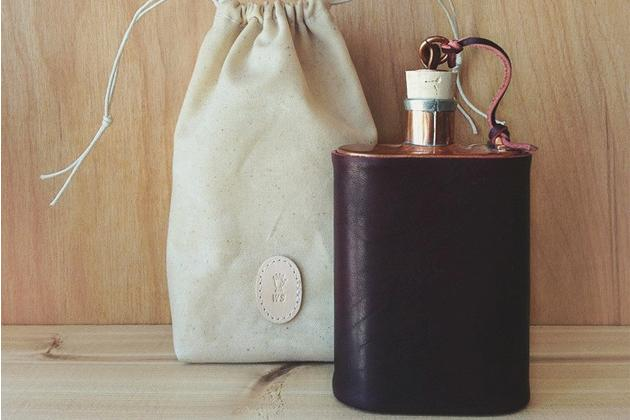 Jacob Bromwell X Winter Session- Covered Flask