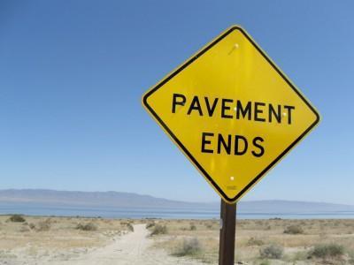 Pavement Ends
