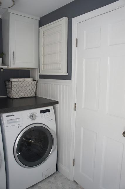 House Tour Week 5 Half Bath Laundry Room Reveal