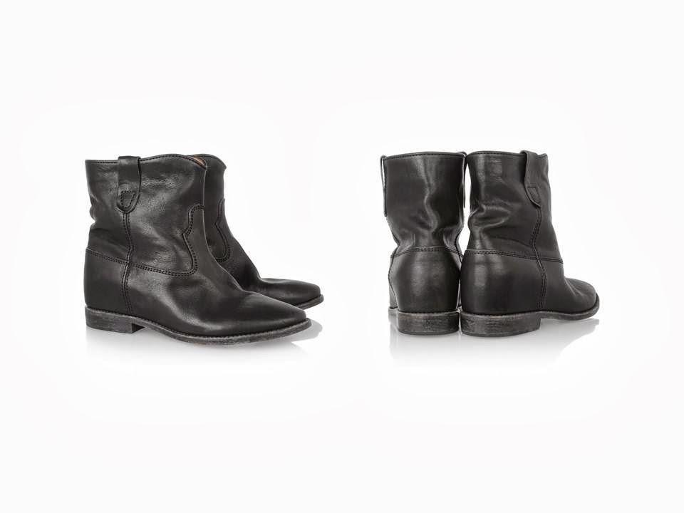 isabel marant cluster boots paperblog. Black Bedroom Furniture Sets. Home Design Ideas