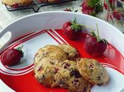 Strawberry Chocolate Cookies
