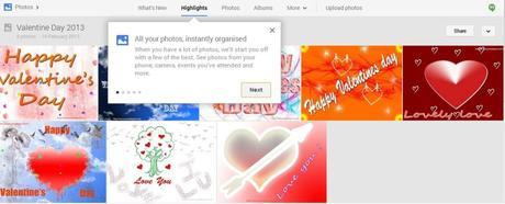 Google Plus Photos Instantly Organized