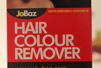 Review JoBaz Hair Colour Remover  Paperblog