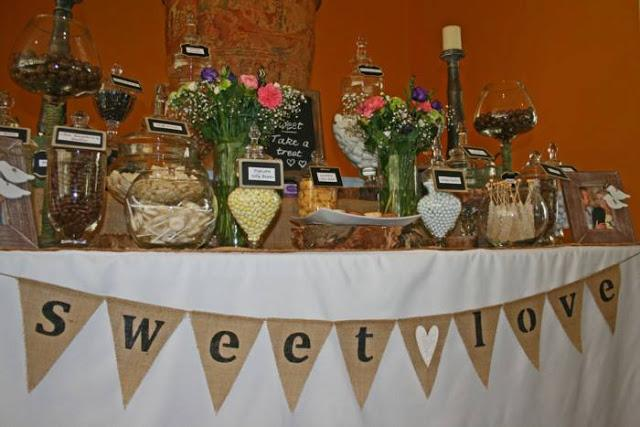 Rustic Themed Wedding At Lindenberry Estate Winery By Sweetest Thing Candy Buffet And Event Styling