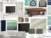 Mood Board Link Party: Sand Beachy Living Room