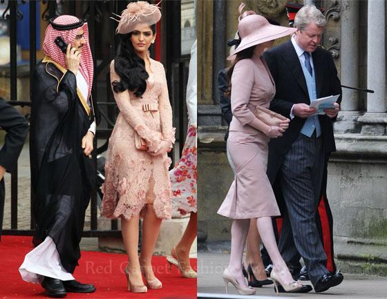 Wedding Guests At The Royal
