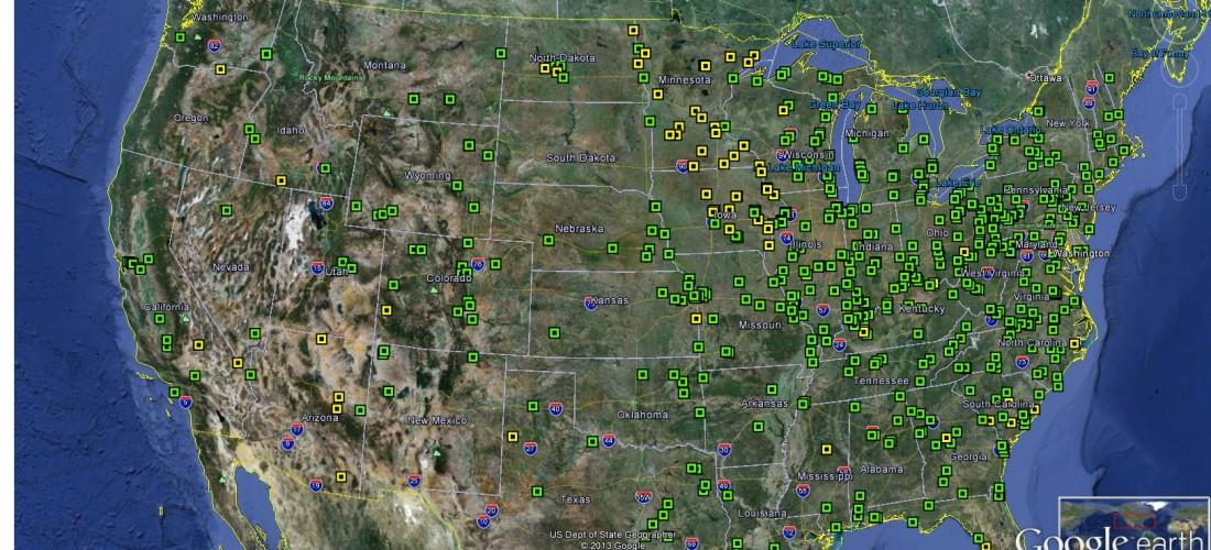 Google Earth Helps Power Plants To Stay Cool Paperblog