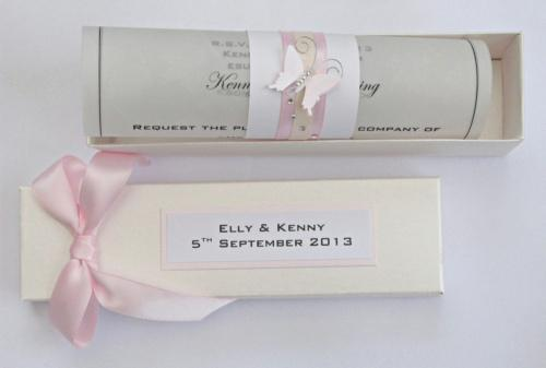 Erfly Theme Wedding Stationery