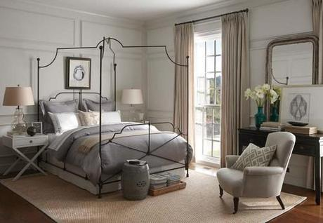 traditional bedroom Nifty Shades Of Gray To Decorate Your Home HomeSpirations