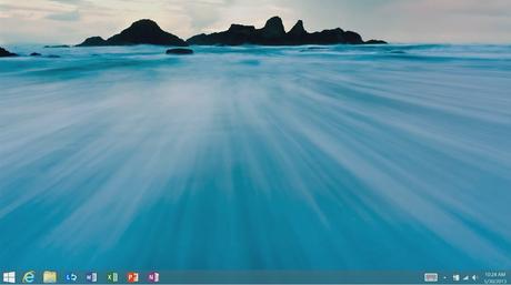 Windows 8.1 start button direct to desktop