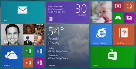 windows 8.1 live tiles