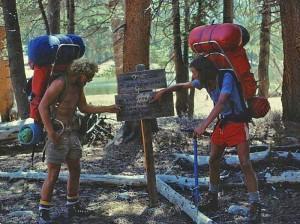 70's hiking