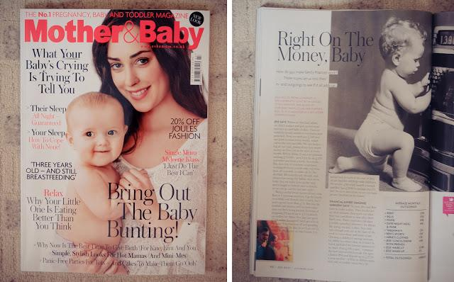 We've Been Featured! Mother & Baby Magazine